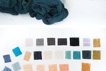 color palettes / Looking for the color for your project. Palettes help you get a cohesive feel.