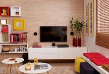 Decoração: Sala de Estar -Living Room / Visite www.thyaraporto.com/blog e confira ótimas dicas para decorar a sua casa.