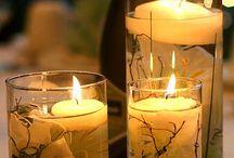 Candles...Lights...Flowers...Centerpieces