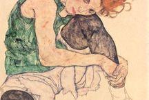 Schiele, Egon / by Aliro González