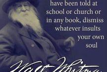 Uncle Walt / Walt Whitman, American poetry, 19th century poet