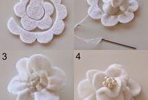 hacer flores para decorar