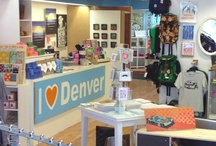 I Heart Denver Store / I Heart Denver Store is located at 16th & Glenarm on level 2 of Denver Pavilions. 70% of sales go directly to the artist and they are all from Colorado. All items on our board can be found in the store while supplies last.
