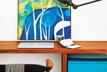 Pracovne - Study rooms / Ako si zariadiť pracovňu? Nechajte sa inšpirovať našou zbierkou pracovní z celého sveta!