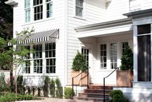 new house exterior / by Haylie Duff