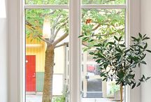 interiors + exteriors / by Rachel Ball