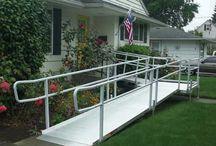 Modular Wheelchair Ramps for Homes / Modular Wheelchair Ramps for Homes