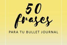 Bullet Journal inspiración