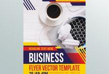 poster flyer vector