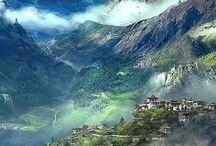 Mountain lands