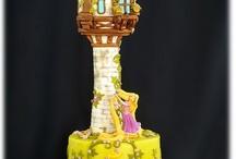 Торт замки