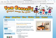 Tom Connally's Music Website / Website for Christian Children's Songs