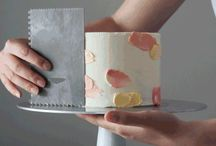 Watercolour buttercream