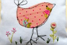 Free motion embroidery / Ideas and inspiration