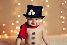 Schattige baby foto's