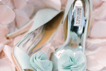 Bryllaup: sko