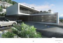 moderne huizen