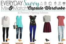 Wardrobe Ideas: Fashion, Capsule & Mix & Match