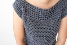 tops en shirts crochet