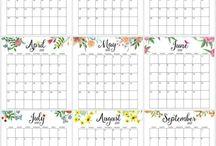 Calendario Pinterest