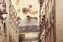 fall in Paris  / by Nichole Reed