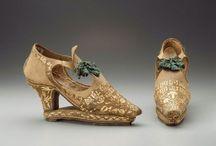 Shoes - Tudor, Elizabethan, Stuart