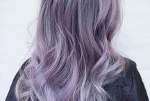 Hair Color Inspiration / Unicorn hair, rainbow hair, balayage, hair color inspo, hair dye, ombre, DIY hair color, highlights, blonde hair, purple hair