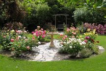 """Landscape Design Inspiration / Jackson & Perkins will help take the guesswork out of gardening. Our world-class, experienced designers will work one-on-one with you to create your """"perfect garden"""".  Find out more: www.jacksonandperkins.com/landscapedesign"""