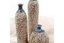 Cerámicas, lozas e  porcelans / Arte y artesanía