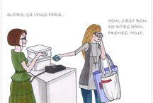 Shopping Humor