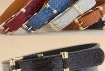 Belts, military belts