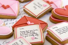 Decorated Valentines Day  Cookies / by Rosalie Romero