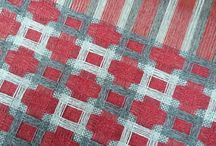 weaving and rugs - double weaves? / pictures and drafts of weaves that i suspect are in the double weave family - deflected and true double weave