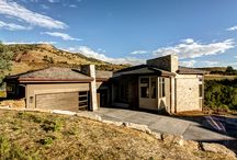 Red Rocks Hillside / The ultimate bachelor pad with expansive views of the quintessential Colorado Red Rocks landscape.
