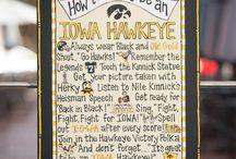 Iowa...Go Hawkeyes / Iowa and the University of Iowa Hawkeyes / by Debra Williams
