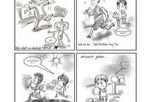 komik / Berisi komik komik strip karya saya...  Tokoh : CAK SIBLON, NING TINI, OGAN, PUS dan NAMUN