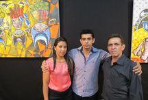 EXPO PIAUÍ 2015 DE ARTES PLÁSTICAS / Exposição de artes plásticas na Galeria do Clube dos Diários em Teresina - Curadoria de Carlos Holanda