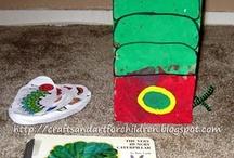 The Very Hungary Caterpillar Crafts