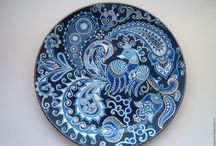 Дизайн тарелок