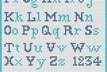 Brodere alfabet