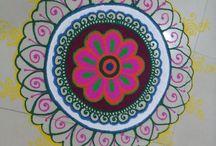 Diwali Celebration by INIFD, Gandhinagar / Diwali Celebration by INIFD, Gandhinagar students