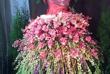 bloemschikkunst / altijd al een grote hobby van me , en ideeen genoeg