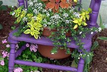 gardening ideas / by Sandra Kirby