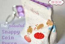 I sew bags everywhere  (snap bags, coin purse,  bags, etc.)