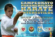 Actividades de Karate Córdoba / Eventos desarrollados por FCK o bien en los cuales participa de manera activa atraves de sus miembros.