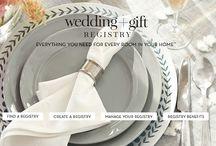 WEDDING REGISTRY / Wedding registry target, pottery barn, tips tricks
