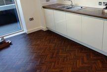 Amtico Herringbone Flooring / Client: Private Residence In East London Brief: To supply & install Amtico herringbone flooring to premises Project: https://goo.gl/5fk75r