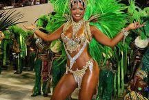 Samba Dancers & Female Models