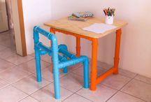 mesa de criança