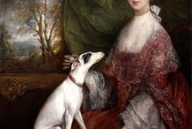Painting - historical portraits with pets / by Lauren Taylor